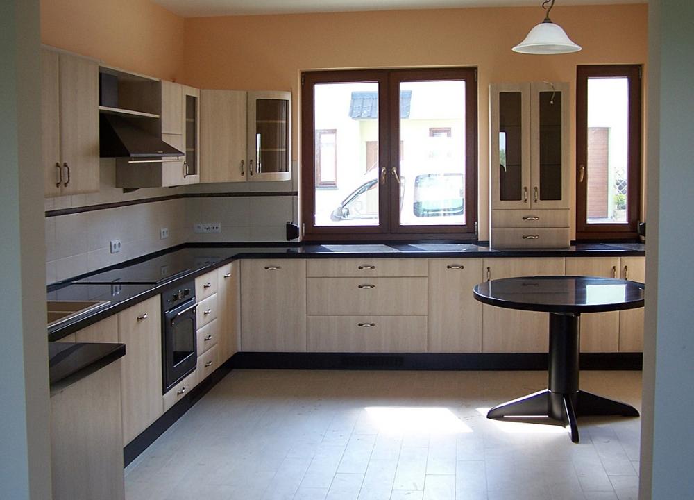 Kuchnie – Drewniane meble i schody na zamówienie -> Kuchnia W Limonce