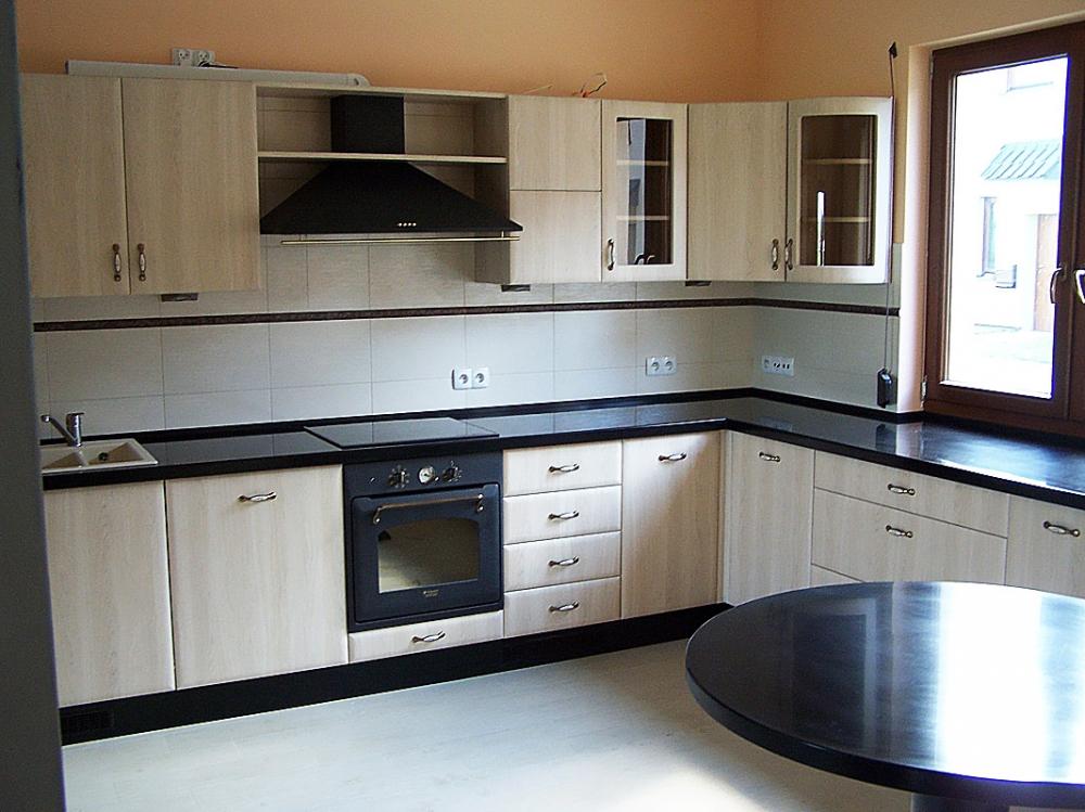 Inne – Drewniane meble i schody na zamówienie -> Kuchnie Z Marmurem