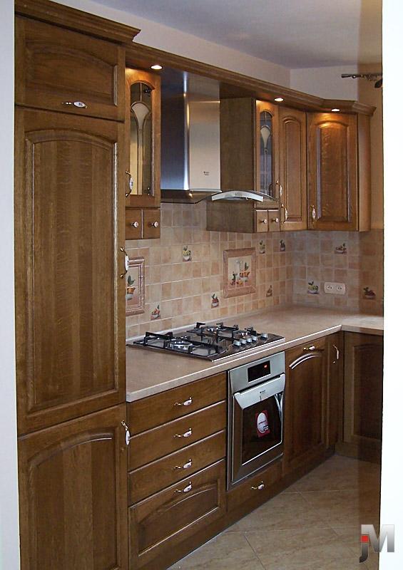 Kuchnie – Drewniane meble i schody na zamówienie